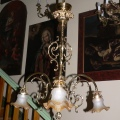 Three-arm chandelier