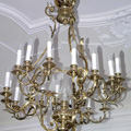 Restored chandelier for a private castle