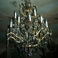 Chandelier in the style of the time of Maria Teresa style for the castle in Dukovany (after restoration)