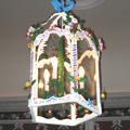 Interior lantern in the Rococo style for the castle in Kunin