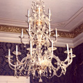 Venetian chandelier for the Nostic Palace in Prague