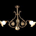 Replica of a chandelier from the late nineteenth century for a private owner