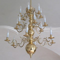 Dutch chandelier for a private castle