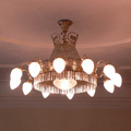 Chandelier for the lecture hall in a private castle