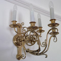 Sconces for a private residence