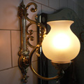 Wall lamp for a private residence